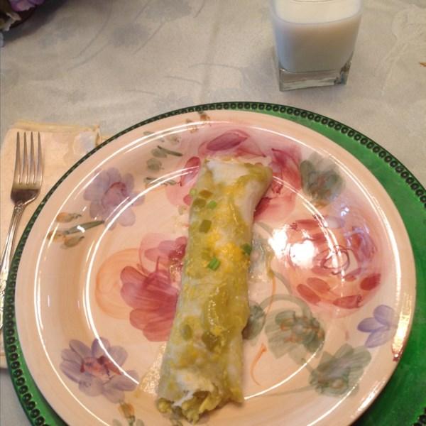 Receita enchiladas do café da manhã