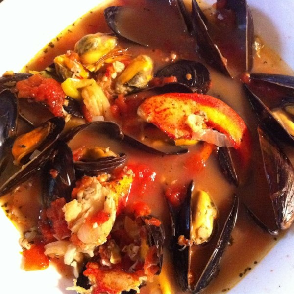Receita de Cioppino de Frutos do Mar