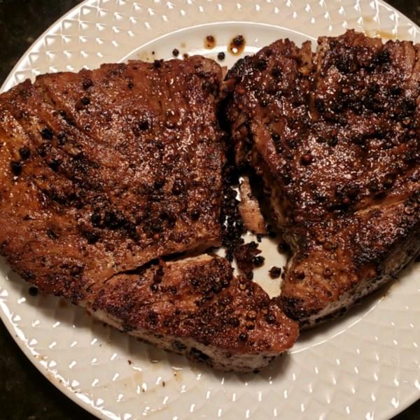 Esfregão picante para receita de filés de atum