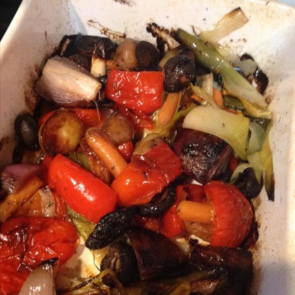 Receita de Legumes Assados de Forno Vegano
