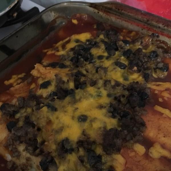 Receita enchiladas