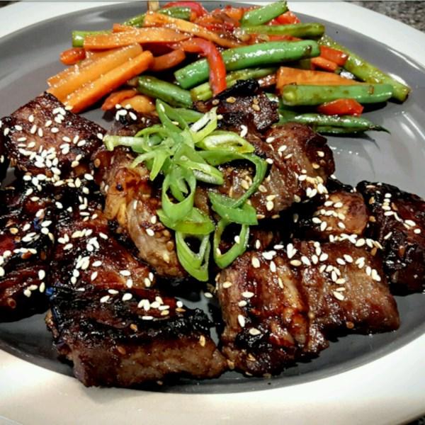 Receita de Bife Coreano Incrível