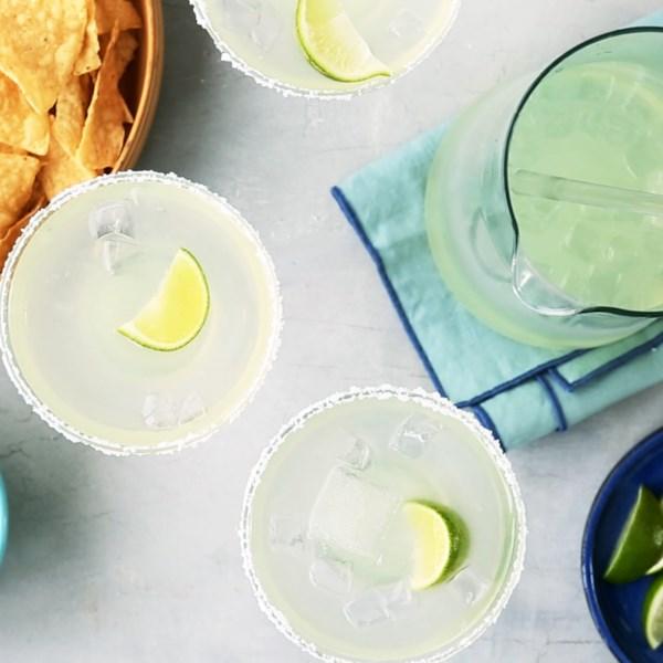 Receita de Margaritas Perfeitas de Jarro