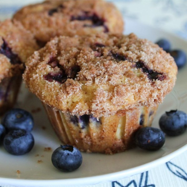 Para morrer por receita de muffins de mirtilo