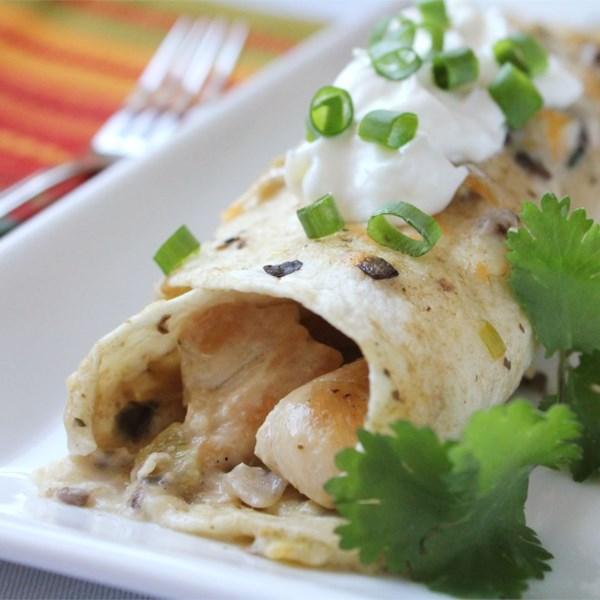 Receita de Frango Enchiladas II