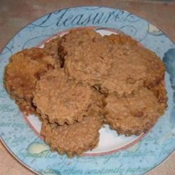 Receita de biscoitos de aveia de chocolate gostoso