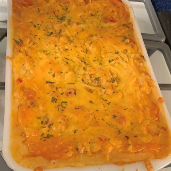 Receita de Espaguete Assado de Lagostim