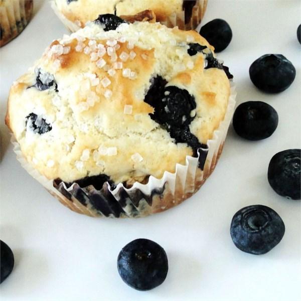 Receita de Muffins de Nozes de Mirtilo