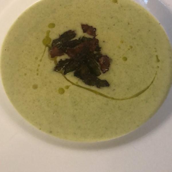 Receita de Creme de Sopa de Aspargos Frescos II