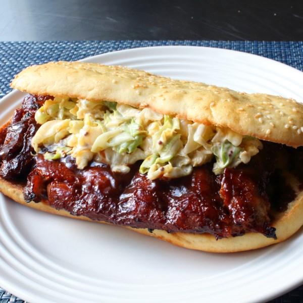 Receita de Sanduíche do Chef John's Copycat McRib(R)