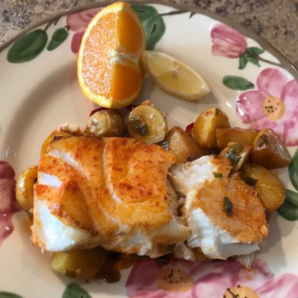 Sea Bass a la Michele Recipe
