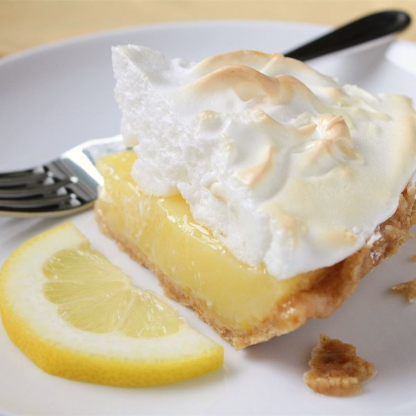 Receita de Torta de Merengue de Limão da vovó