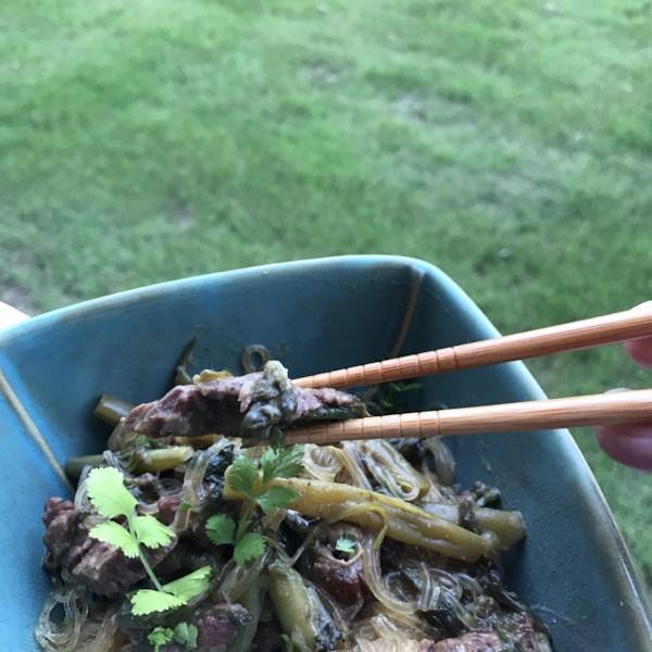 Receita de Curry de Carne Tailandesa de Panela Lenta