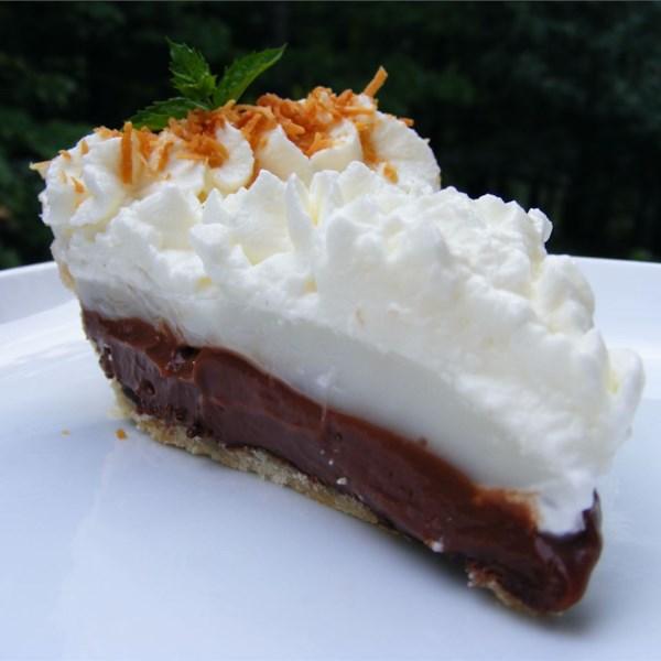 Receita de Coco (Haupia) e Torta de Chocolate