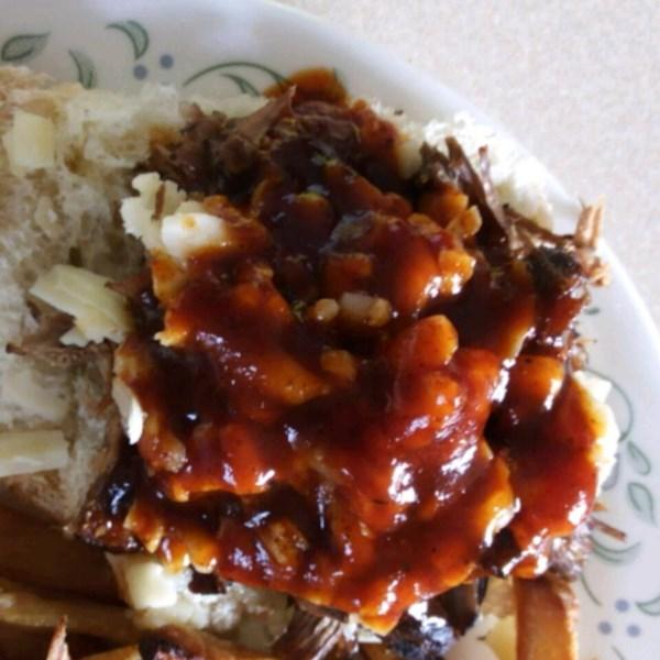 Receita de Sanduíches de Carne Puxada do Churrasco do Sul