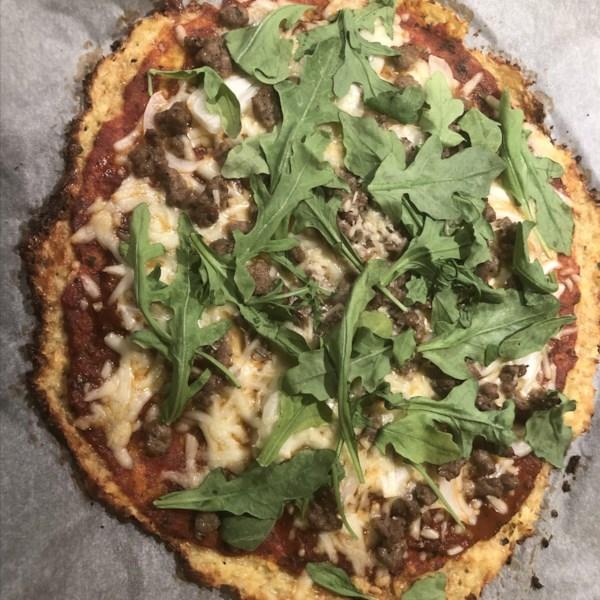 Crosta de pizza de couve-flor do Gigante Verde® Receita