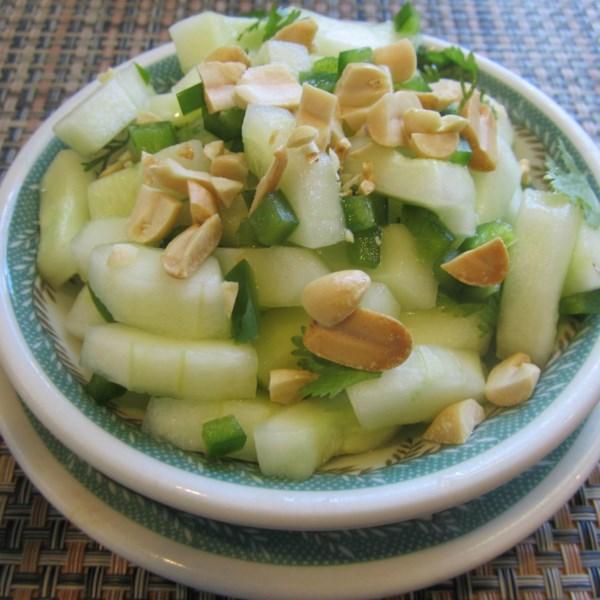 Receita de Salada de Pepino Tailandês