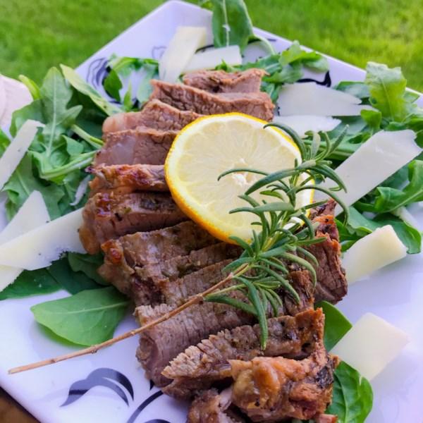Receita de Tagliata de Carne Assada