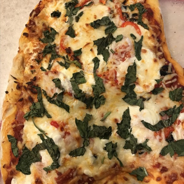 Receita de Pizza de Forno de Tijolo (Estilo Brooklyn)