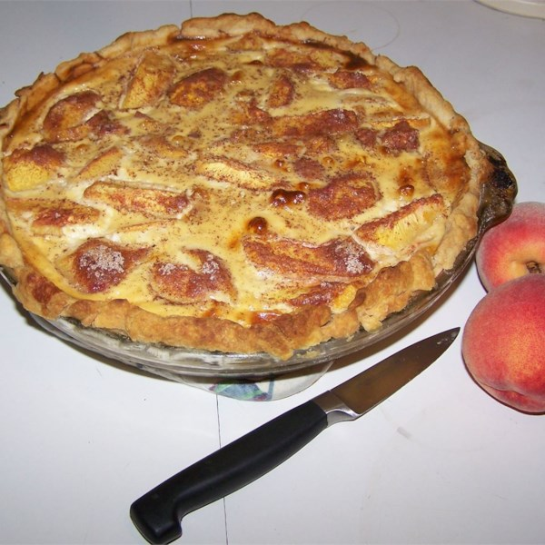 Receita de Torta de Creme de Pêssego III