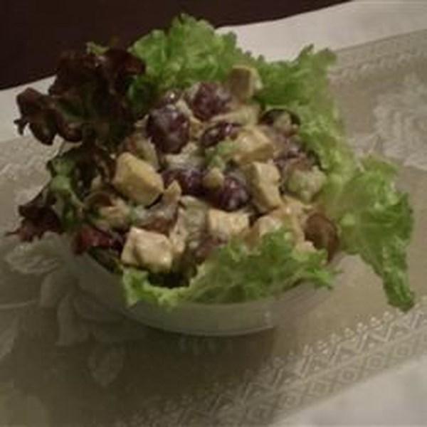 Receita de Salada de Curry de Tofu Frutado
