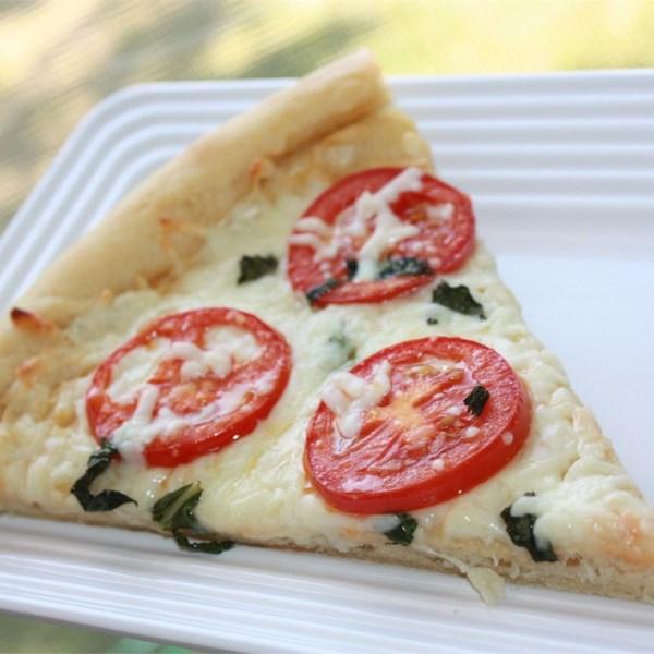 Quatro Receitas de Pizza de Queijo Margherita
