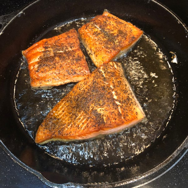 Pan Seared Salmon I Receita