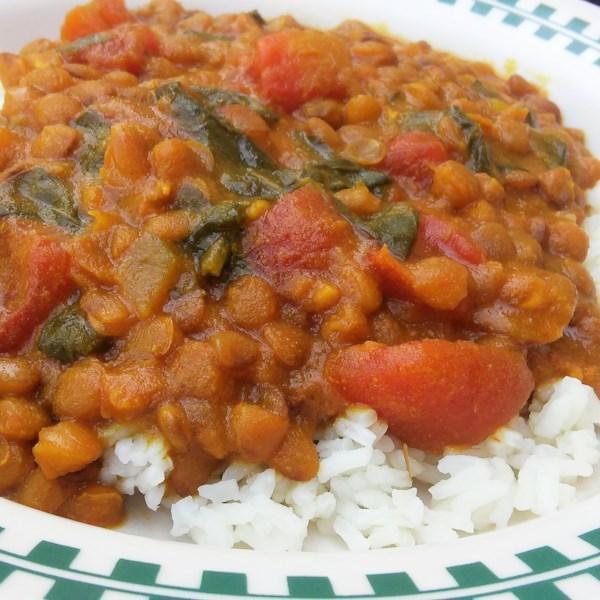 Receita de Curry em Uma Pressa