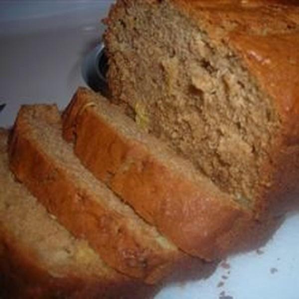 Receita de Pão de Abobrinha de Abacaxi