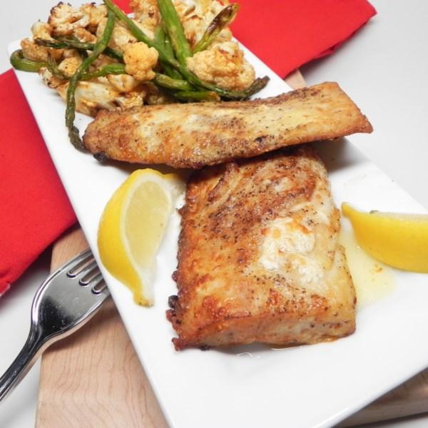 Air Fryer Mahi Mahi com Receita de Manteiga Marrom