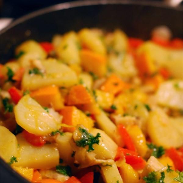 Receita de Hash vegetal de inverno