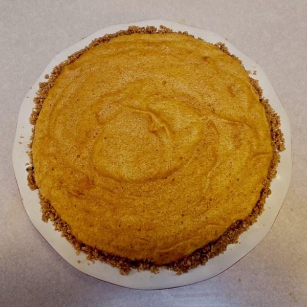 Receita de Torta de Chiffon de Abóbora de Mary'