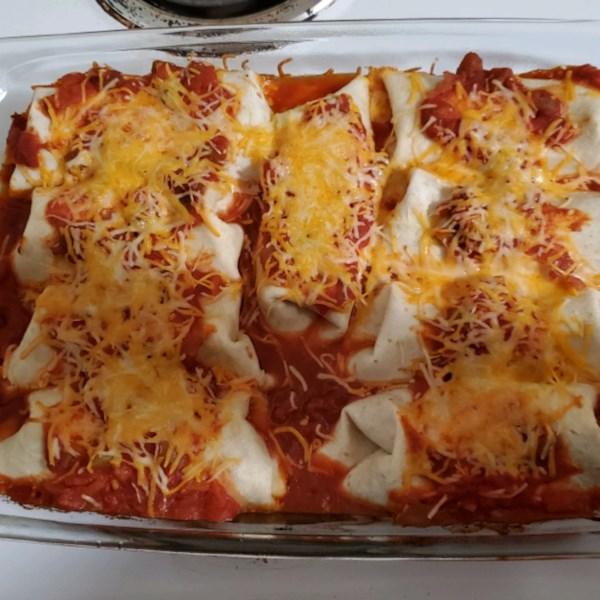 Receita Fácil enchiladas