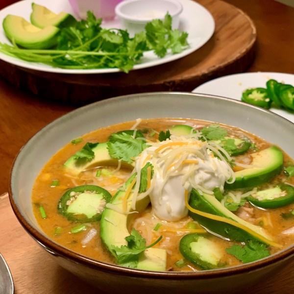 Sopa de Tortilla de Frango I Receita