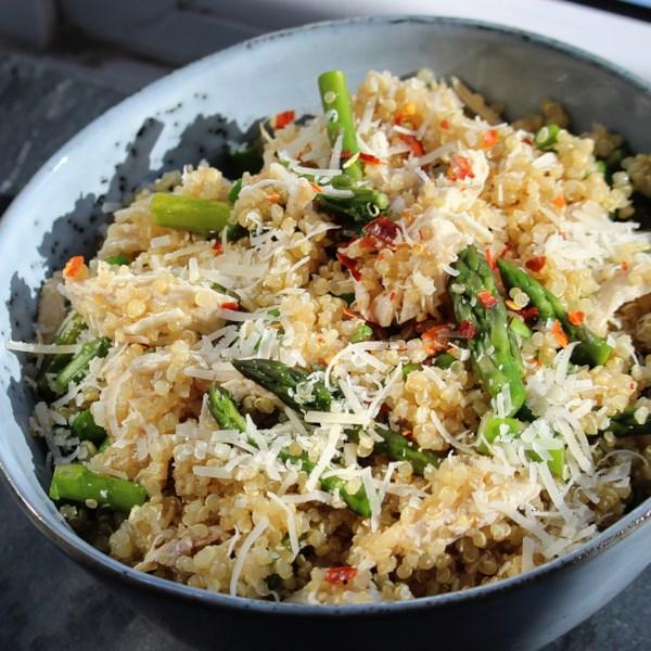 Receita de Salada de Quinoa de Frango