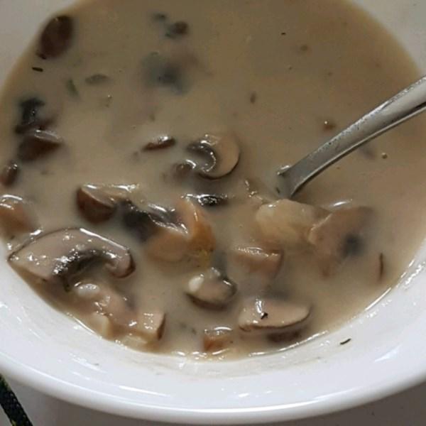 Receita de Creme de Sopa de Cogumelo I