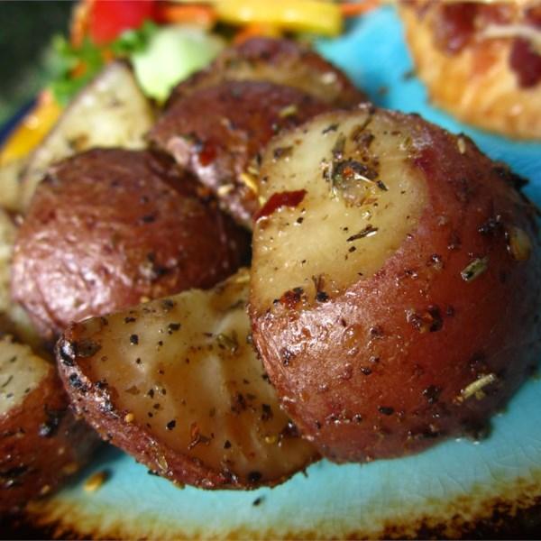 Receita de Batatas Vermelhas Assadas de Forno