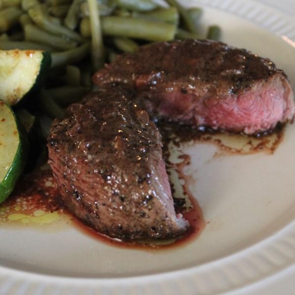 Receita de Steak au Poivre