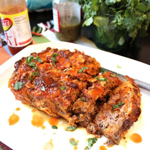 Receita mexicana de bolo de carne de taco