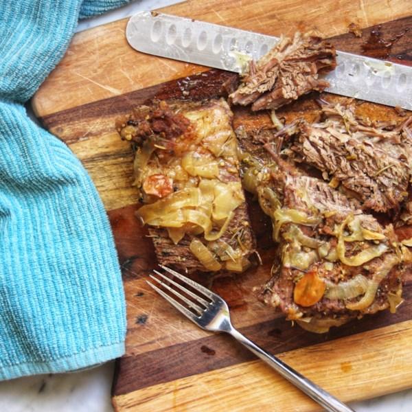 Receita de Brisket de Carne Assada Fácil