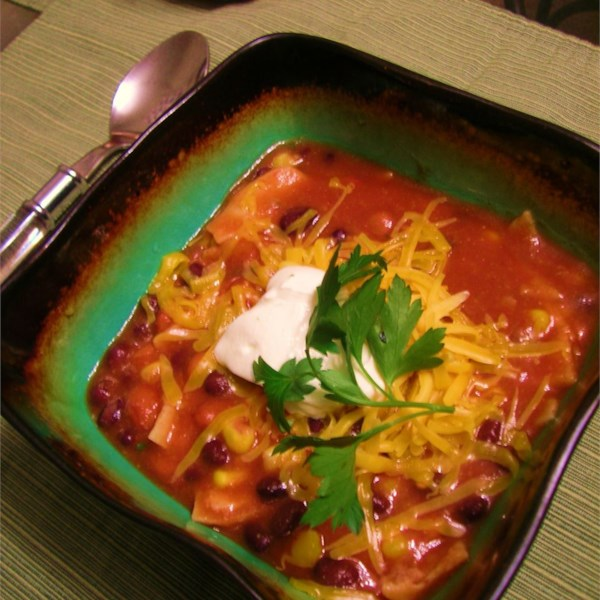 Receita de Ensopado de Tortilla Vegetariana