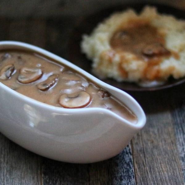 Receita de Molho de Cogumelo Vegano