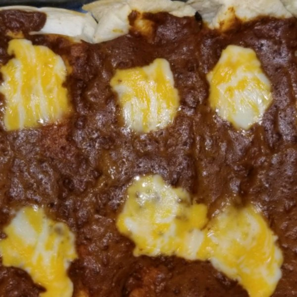 Receita de Cheesy Chili Enchiladas