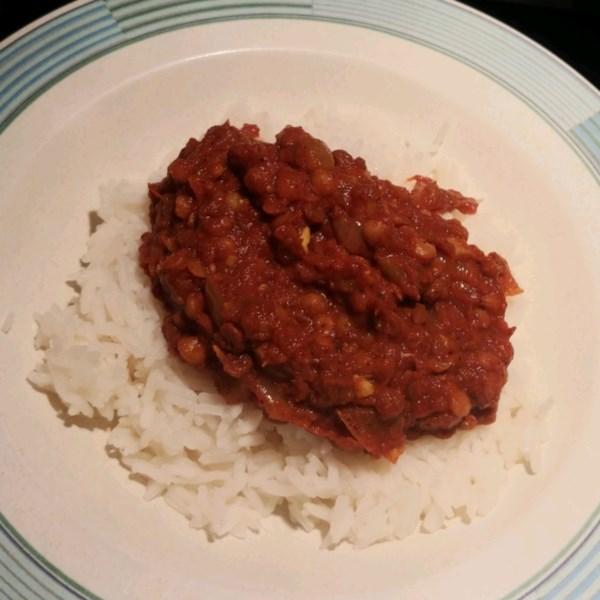 Receita de Curry de Lentilha Vermelha