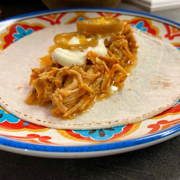 Receita de Tacos de Frango de Panela Instantânea (R)