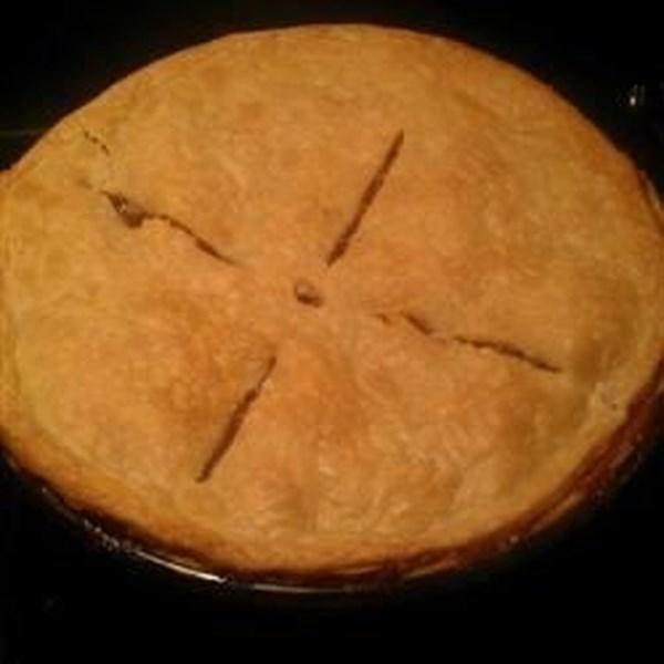Receita de torta de maçã sem adição de açúcar