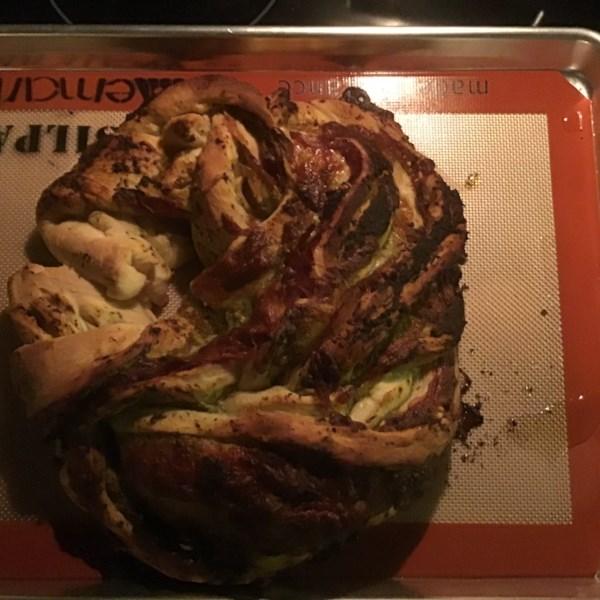 Receita de Pão de Festa Italiana