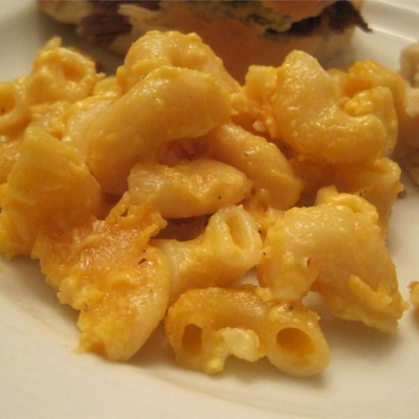 Receita favorita de macarrão com queijo e macarrão da mamãe