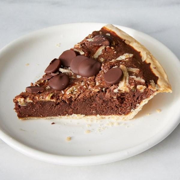 Receita de Torta de Nozes com Manteiga de Chocolate Escuro