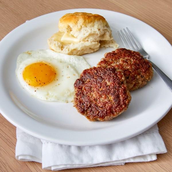 Receita de Salsicha de Café da Manhã do Chef John